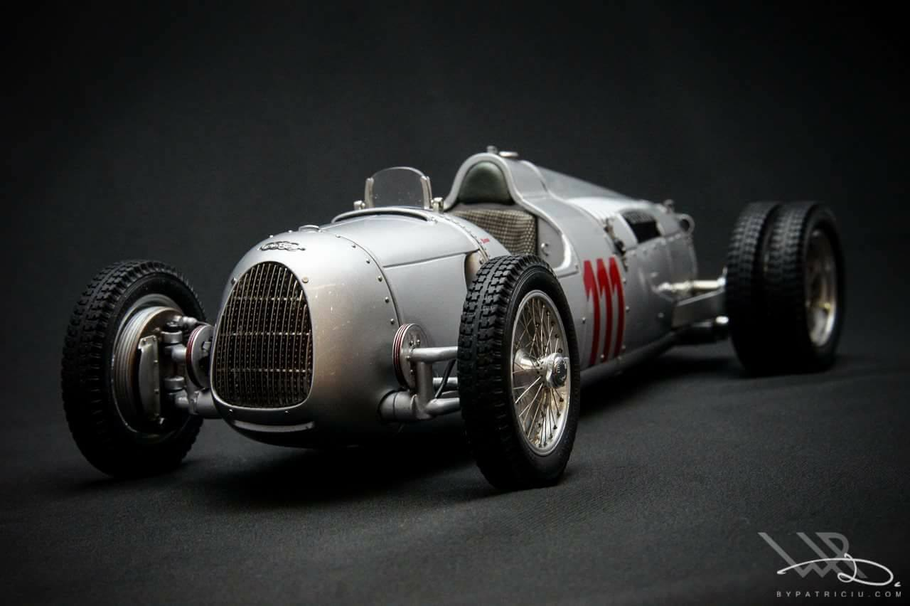 M-162-Auto Union Type C Hill Climb Version #111 Schau ins Land 1937